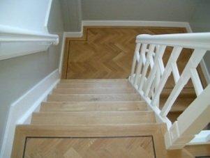trap bekleden van hout - voorbeeld 3 - door van mourik vloeren