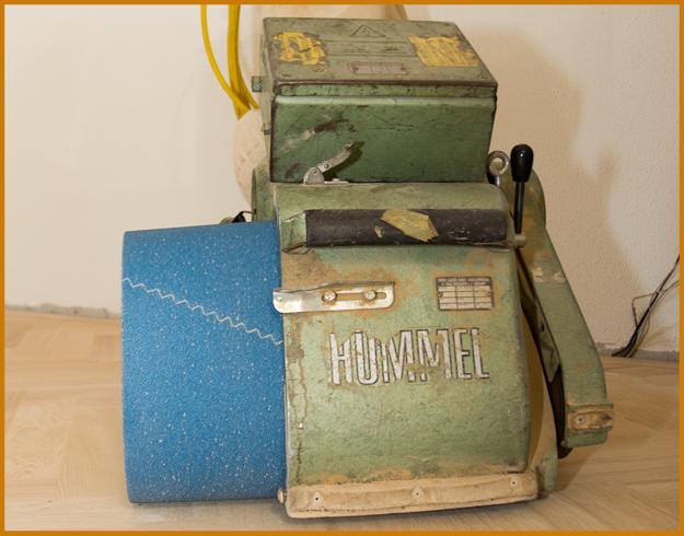 gereedschap schuurmachine houten vloer