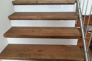 trap bekleden van hout - trap renovatie